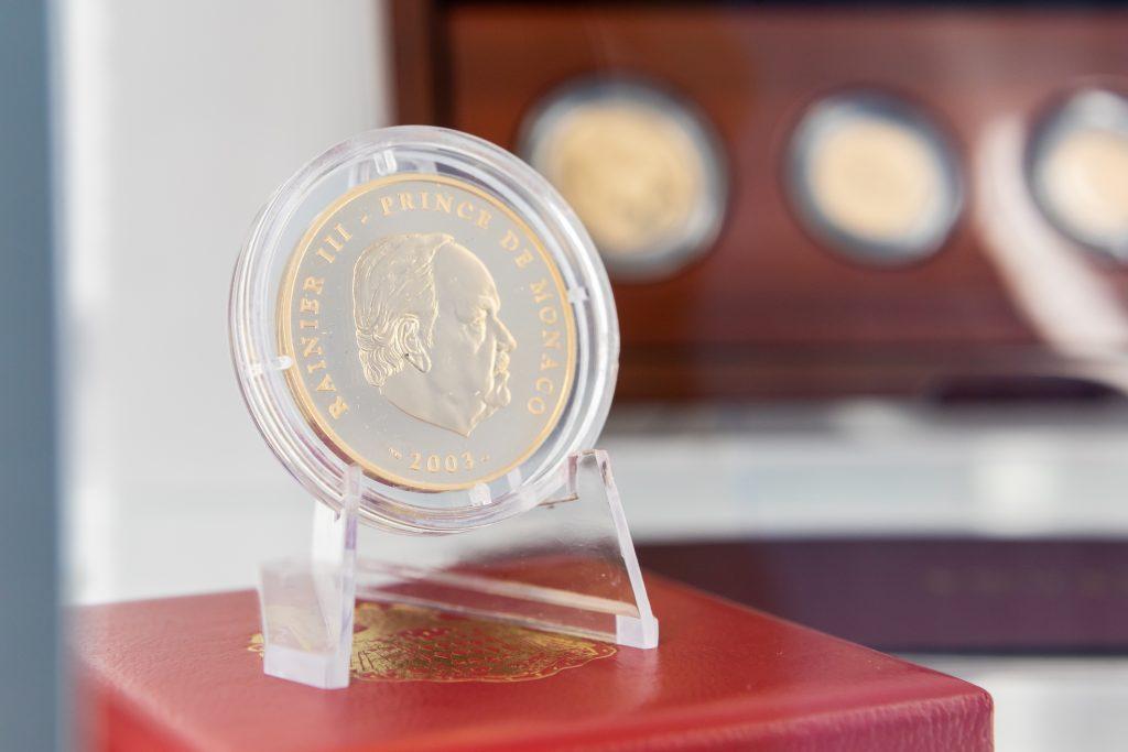 Zberateľská minca Monaco
