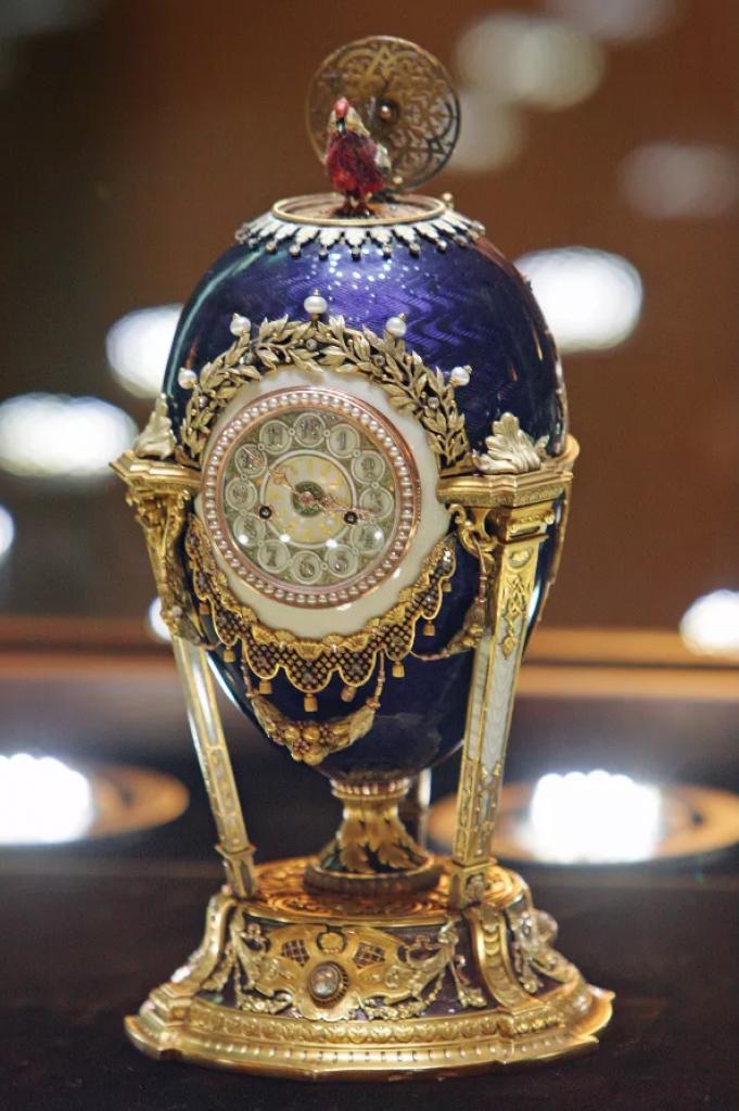 Fabergé vajíčko hodiny