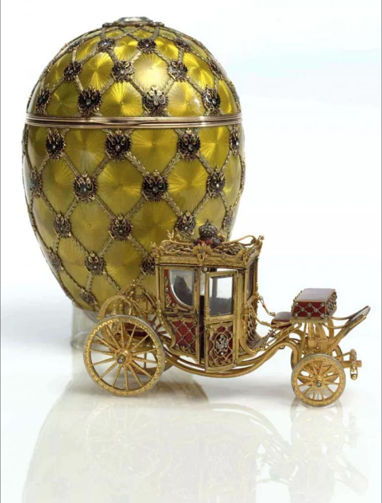 Fabergé vajíčko s kočom