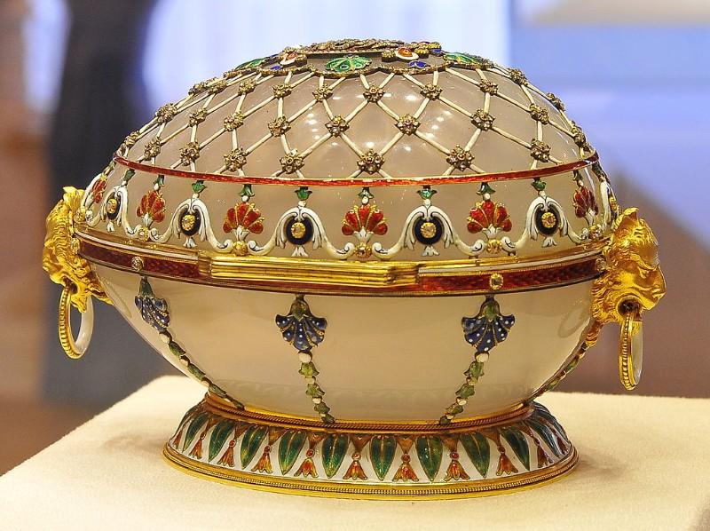 Prvé Fabergého vajíčko